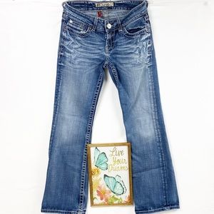 BKE Culture Bootcut Distressed Jeans Size 26